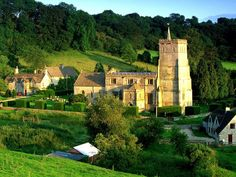 Cotswold Hills, Hawkesbury, England