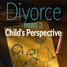 Divorce from a  child's perspective - mental health survivor
