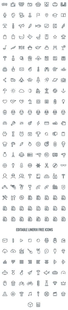 Linerix Icon set