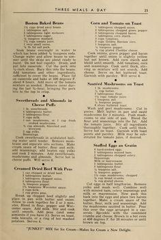 Retro Recipes, Bakery Recipes, Old Recipes, Vintage Recipes, Cookbook Recipes, Great Recipes, Cooking Recipes, Favorite Recipes, Soups