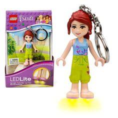 LEGO Friends Mia LED Key Light Key Chain by Santoki Brand NEW /& SEALED