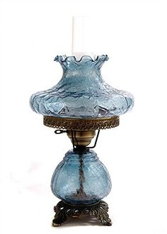 19 in Crackle Hurricane Table Lamp w 10 in Tamoshanta Shade * You can get more details by clicking on the image.(It is Amazon affiliate link) #onedirection