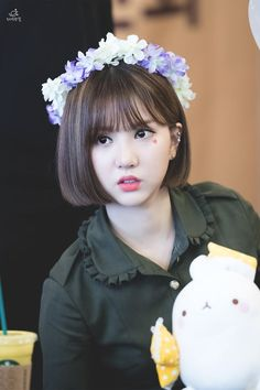 Kpop Girl Groups, Korean Girl Groups, Kpop Girls, Pretty Asian, Beautiful Asian Girls, Sweet Girls, Cute Girls, Hair Reference, G Friend