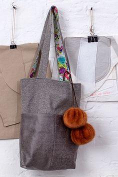 Kostenlose Nähanleitung plus Schnittmuster: Shopper - Initiative Handarbeit