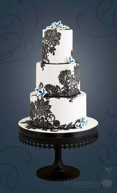 wedding cake ideas; via Little Cherry Cake Company