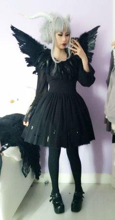 ✞ NOT YOUR DOLL ✞ Harajuku Fashion, Lolita Fashion, Gothic Fashion, Asian Fashion, Steampunk, Japanese Street Fashion, Mori Girl, Lolita Dress, Gothic Lolita