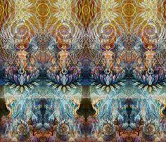 zen border fabric by highonsunshinevibes on Spoonflower - custom fabric
