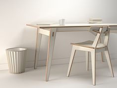 Silk Felt Soil: stunning & affordable: furniture by London firm, Unto This Last