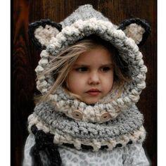 Cute Baby Hat Winter Windproof Cat Ear / Fox Shaped