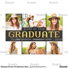 Graduation Invitations Pinterest