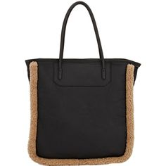Alexander Wang Prisma Tote ($1,495) ❤ liked on Polyvore featuring bags, handbags, tote bags, black, genuine leather tote bag, black leather tote, black tote bag, leather tote and leather handbags