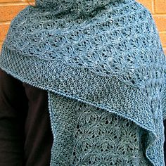 Love the Ocean Wrap by Linda Lehman ~ Sport 5ply