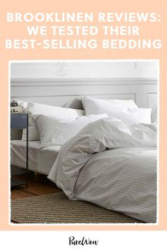 Trying to sift through all of those Brooklinen reviews to see whether the bedding's worth it? Here, find everything you need to know about the brand, including comprehensive breakdowns of a few best-selling bedding products, from down comforters to sheet sets. #Brooklinen #sheets Home Bedroom, Bedroom Decor, Bedding Decor, Bedrooms, Messy Bed, Down Comforter, Sateen Sheets, Cozy Bed, Furniture Sale