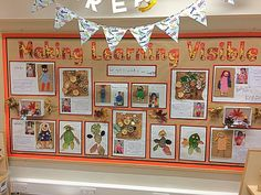 Documentation Boards are a way to showcase student learning and make connections with the Early Childhood Learning Standards. It is also a wonderful way to communicate with parents or guardians about student learning in the childcare setting. Reggio Classroom, Classroom Organisation, New Classroom, Classroom Design, Classroom Ideas, Early Years Displays, Class Displays, Classroom Displays, Preschool Displays