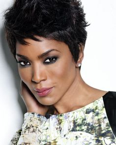 """Angela Bassett...beauty, brains, strength...wife, and mom of twins! 