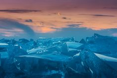 inch Photo Puzzle with 252 pieces. (other products available) - Morning crescent moon at frozen lake - Image supplied by Fine Art Storehouse - Jigsaw Puzzle made in the USA Fine Art Prints, Framed Prints, Canvas Prints, Lake Baikal, Lake Photos, Patterns In Nature, Adventure Is Out There, Travel Photographer, Poster Size Prints