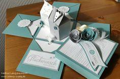 Stamp and Create: Explosionsbox zur Hochzeit
