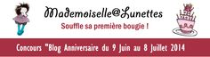 "Mademoiselle A Lunettes: Concours ""Blog Anniversaire"" : Instant Box"