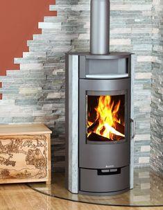 free standing corner wood burner - Google Search