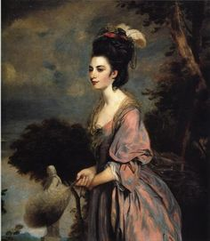 Joshua Reynolds, Mrs. Richard Crofts, 1775, The Paintrist Files