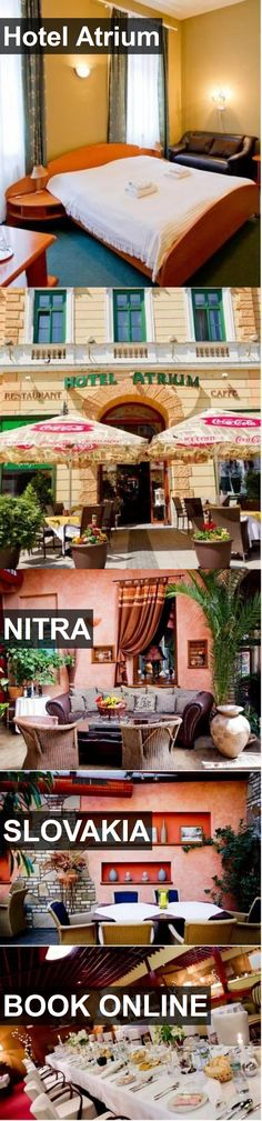 Hotel Hotel Atrium in Nitra, Slovakia. For more information, photos, reviews and best prices please follow the link. #Slovakia #Nitra #HotelAtrium #hotel #travel #vacation