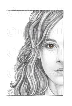 Harry Potter Painting, Harry Potter Artwork, Harry Potter Drawings, Harry Potter Pictures, Harry Potter Wallpaper, Fanart Harry Potter, Harry Potter Sketch, Harry Potter Characters, Hermione Granger Drawing