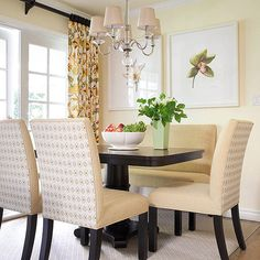 Repeat Colors, Breakfast Nook ideas & Inspiration #BreakFast #Nook #Kitchen #Home  #IrvineHome  ༺༺  ❤ ℭƘ ༻༻
