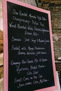 #menu  Photography: Soda Fountain Photography - sodafountainphotography.com  Read More: http://www.stylemepretty.com/2011/09/15/chicago-wedding-by-soda-fountain-photography/