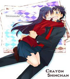 Shin-chan and Ai <3
