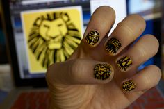 Musical 'The Lion King' Nails