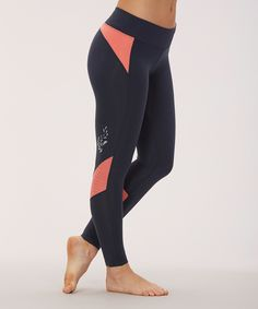 Look at this #zulilyfind! Marika Tek Black Iris Bouce Back Leggings by Marika Tek #zulilyfinds