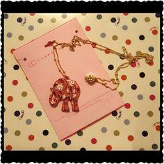 CLOSING SUNDAY Lauren Conrad elephant nec Beautiful dainty and new Lauren Conrad  Jewelry Necklaces