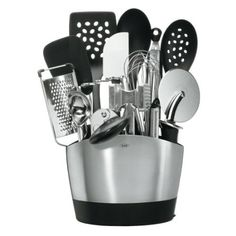 OXO Good Grips 15-Piece Everyday Kitchen Tool Set: Amazon.com: Kitchen & Dining