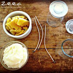 mały zestaw doświadczalny... lubimy tworzyć nowe receptury, nowe zapachy świec ...