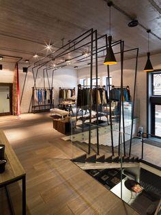 Merveilleux Multibrand Concept Store And Fashion Atelier S.M.L.XL. In Kyiv, Interior  Design By Architectural Studio Of Iryna Bilenchuk. All Natural Materials,  Loft Like ...