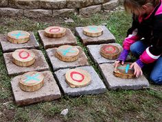 Trendy Homemade Carnival Games For Kids Tic Tac Ideas Homemade Carnival Games, Carnival Games For Kids, Fun Games, Outdoor Play Spaces, Outdoor Fun, Activities For Kids, Crafts For Kids, Diy Crafts, Theme Nature