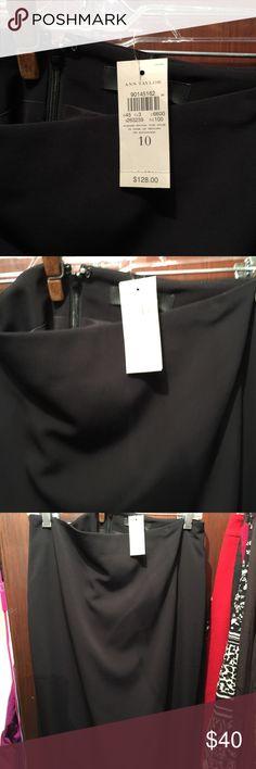 Ann Taylor black skirt Ann Taylor black skirt Ann Taylor Skirts Midi