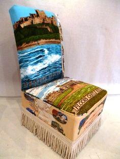 British souvenir chair