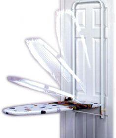 bem discreta, na porta do quarto ou de algum armário (Foto: reprodução/ Site: davecarterrvsource.com)