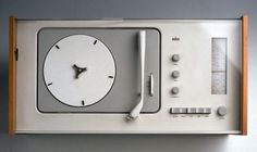 Braun SK 4 record player, designed by Dieter Rams Little Designs, Cool Designs, Dieter Rams Design, Braun Dieter Rams, Interior Wallpaper, Wallpaper Magazine, Record Players, Vintage Design, Mid Century Design