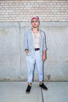 Streetsnaps Heron Preston DSNY UNIFORM Collection New York City Salt Shed Spring Street Fashion Street Style