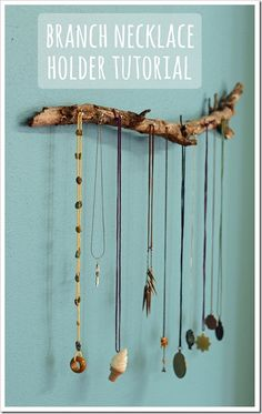 DIY Crafts. I love this diy jewelry holder it's perfect for me.