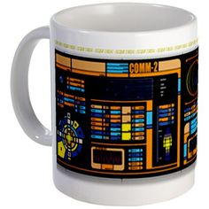 Star Trek LCARS Mug | Geek Armory