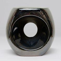 Duffy Ceramic Stool: Black Pearl  $420.00
