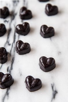 Homemade Black Licorice Hearts (My cold black heart!)