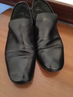 11D Continentals Bally Men's Black Soft Leather Slip On Oxford Dress Shoe Albano #Continentals #LoafersSlipOns