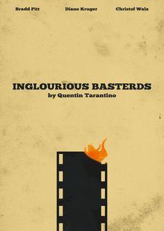 inglorious basterds minimalism art