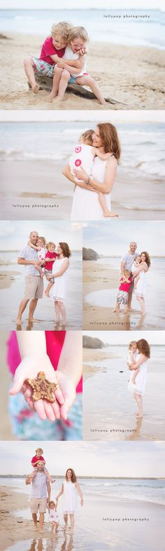 Beach family and children's photographer by lollypop photography