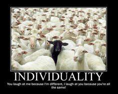 genuine non-conformist :-)