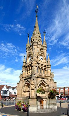 The Clock Tower ~ Stratford upon Avon, England